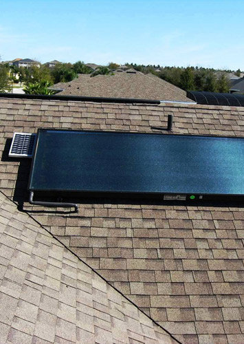 commercial and residential solar hot water heater installation and repair services
